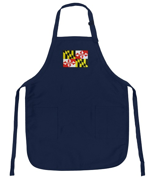 Maryland Apron Navy
