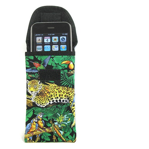 RAINFOREST ANIMALS Phone Case Glasses Holder