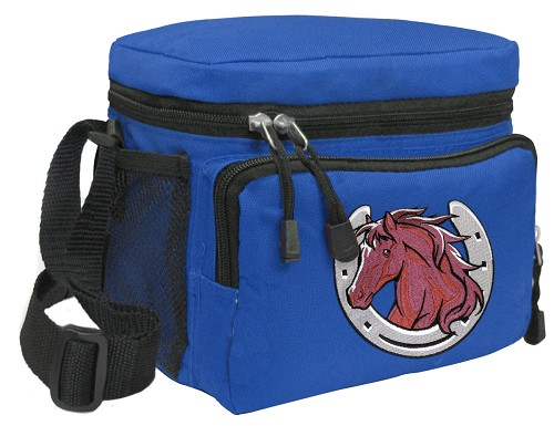 Horse Lunch Box Cooler Bag Insulated Royal