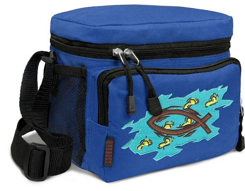 Christian Lunch Box Cooler Bag Insulated Royal
