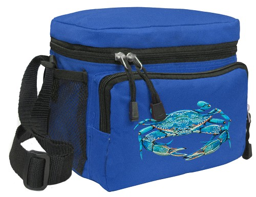 BLUE CRAB Lunch Box Cooler Bag Insulated Royal