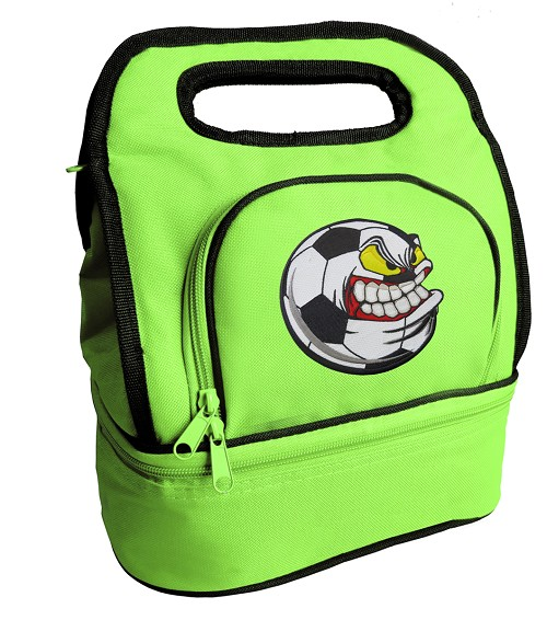 Soccer Fan Lunch Bag Green