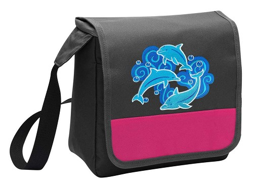 DOLPHIN Lunch Bag Cooler Pink