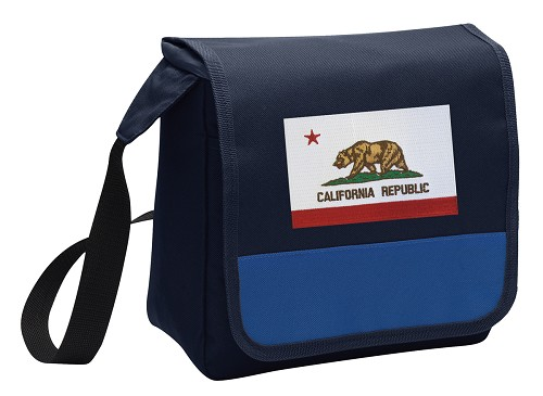 California Flag Lunch Bag Tote