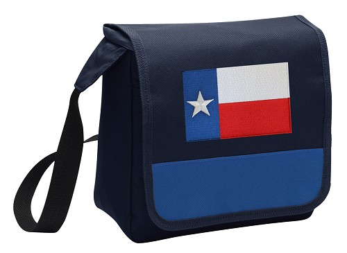 Texas Flag Lunch Bag Tote