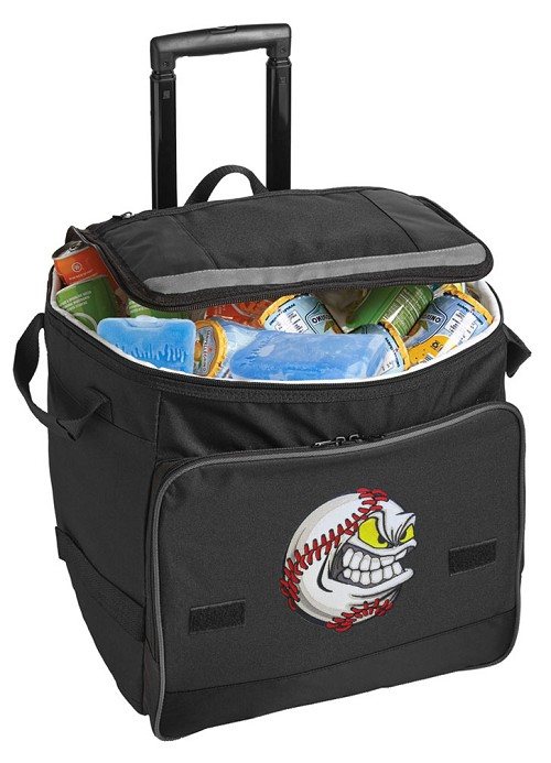 Baseball Rolling Cooler Bag