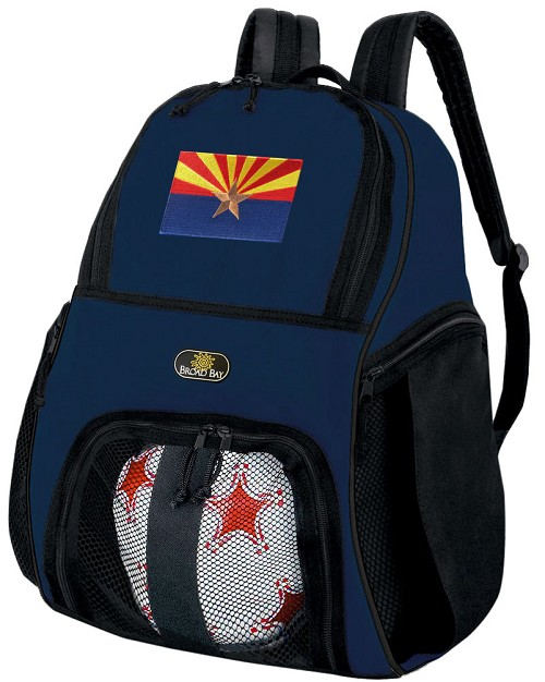 Arizona Flag SOCCER Backpack or VOLLEYBALL Bag