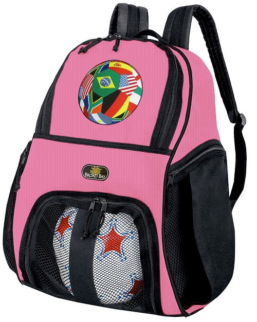 Soccer Ball Backpack Purple