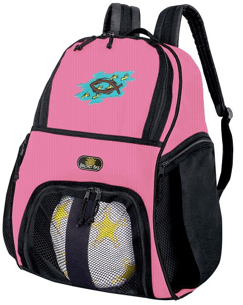 Christian Girls Soccer Backpack