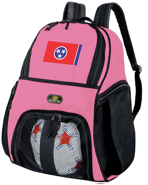 Girls Tennessee Soccer Backpack or Tennessee Flag Volleyball Bag