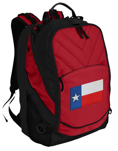 Texas Flag Laptop Computer Backpack