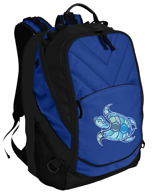 Sea Turtle Top Backpack Blue