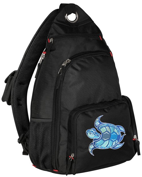 Sea Turtle Sling Backpack