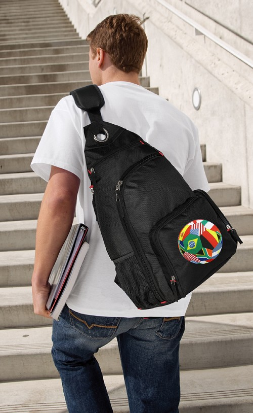 World Soccer Backpack Crossbody