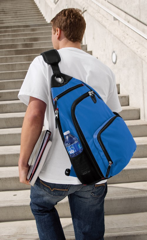 Broad Bay Sling Backpack Blue