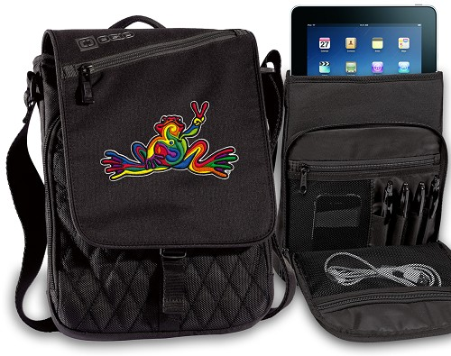 Peace Frogs IPAD BAGS TABLET CASES