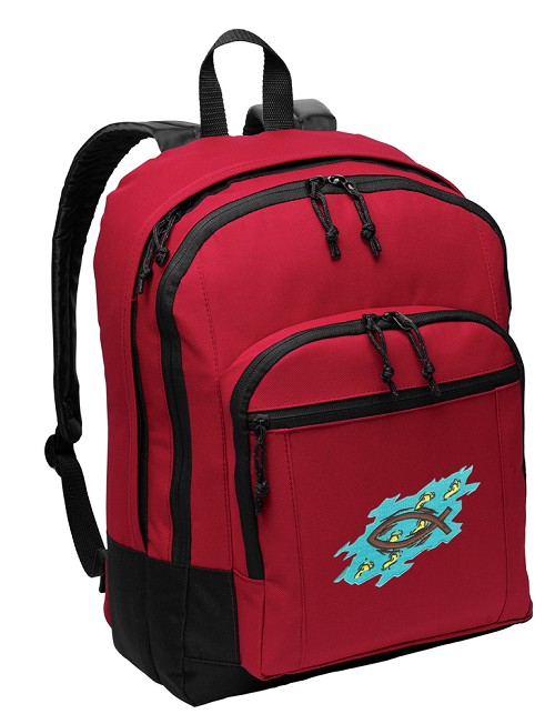 Christian Backpack Red