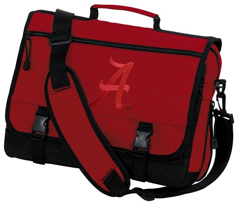 University of Alabama Messenger Bag Red
