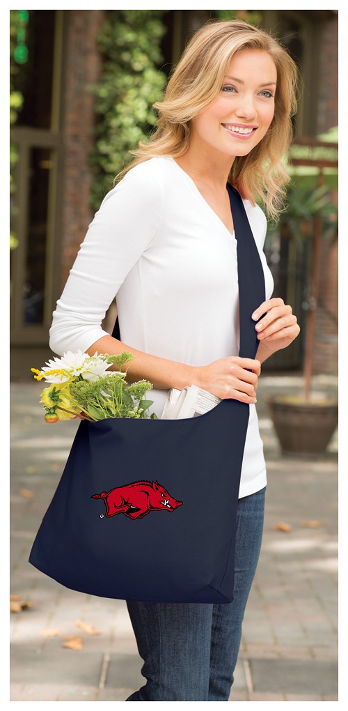 Arkansas Razorbacks Sling Tote Bag