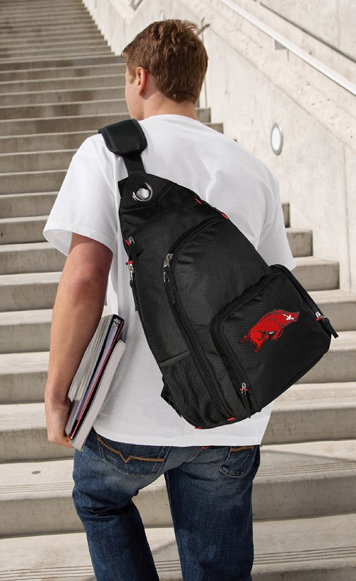 University of Arkansas Razorbacks Sling Backpack