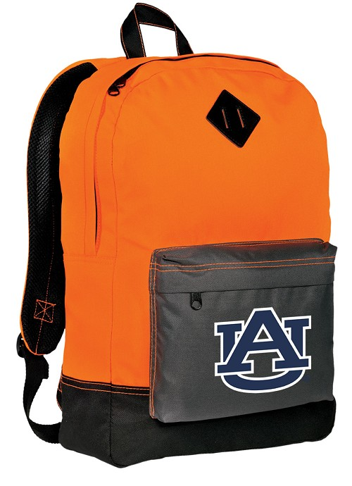 Auburn Neon Orange Backpack