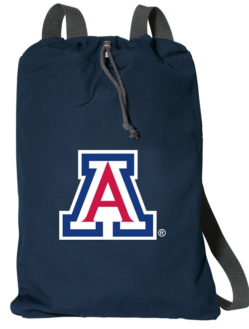 University of Arizona Wildcats Cotton Drawstring Bags