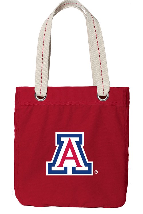 University of Arizona Wildcats Rich RED Cotton Tote Bag