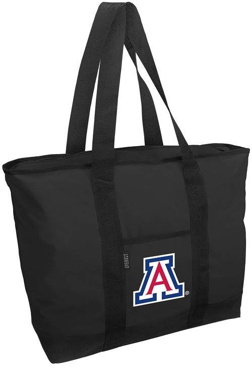 University of Arizona Wildcats Tote Bag Black Deluxe