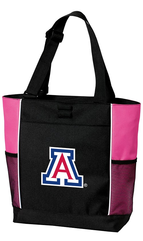 University of Arizona Wildcats Neon Pink Tote Bag