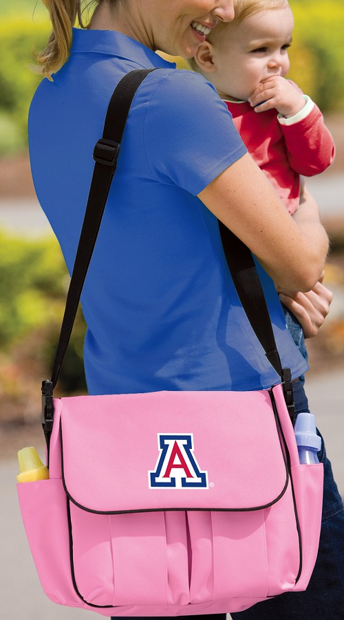 University of Arizona Wildcats Diaper Bag Official NCAA College Logo Deluxe