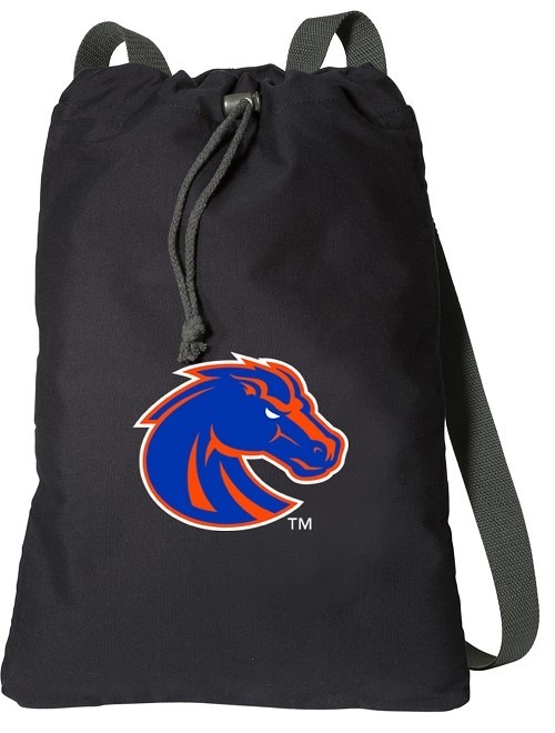 Boise State Cotton Drawstring Bag