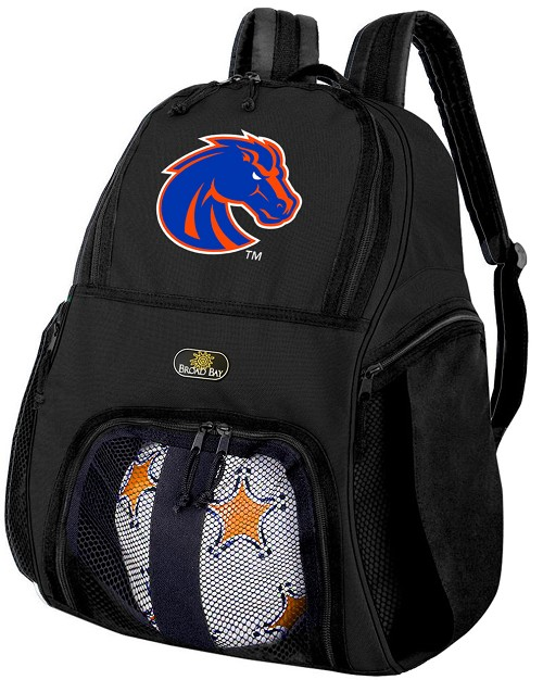Boise State University Soccer Backpack or Boise State Broncos Volleyball Bag For Boys or Girls