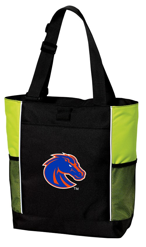 Boise State Tote Bag COOL LIME