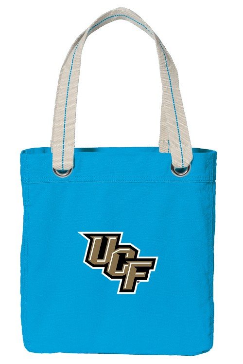 UCF Knights NEON BLUE Cotton Tote Bag