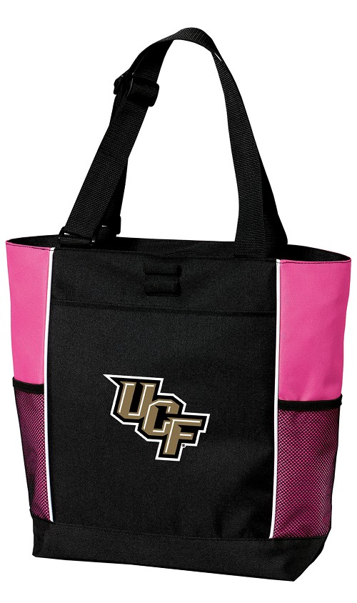 UCF Knights Neon Pink Tote Bag