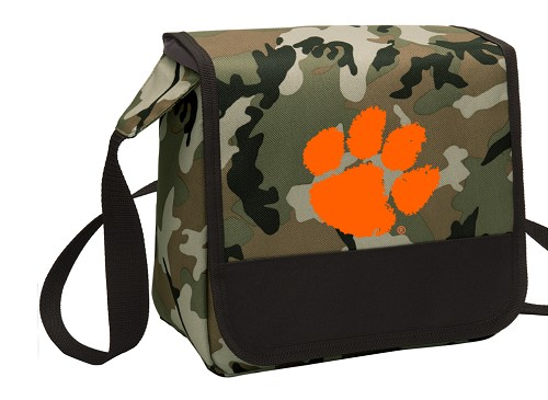 Clemson Lunch Bag Cooler Camo