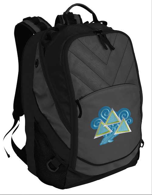 Tri Delt Sorority Computer Backpack