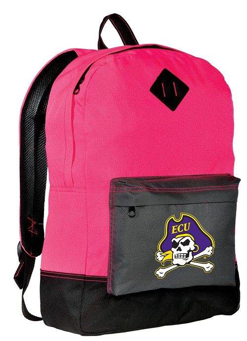 ECU Pirates Neon PINK Backpack