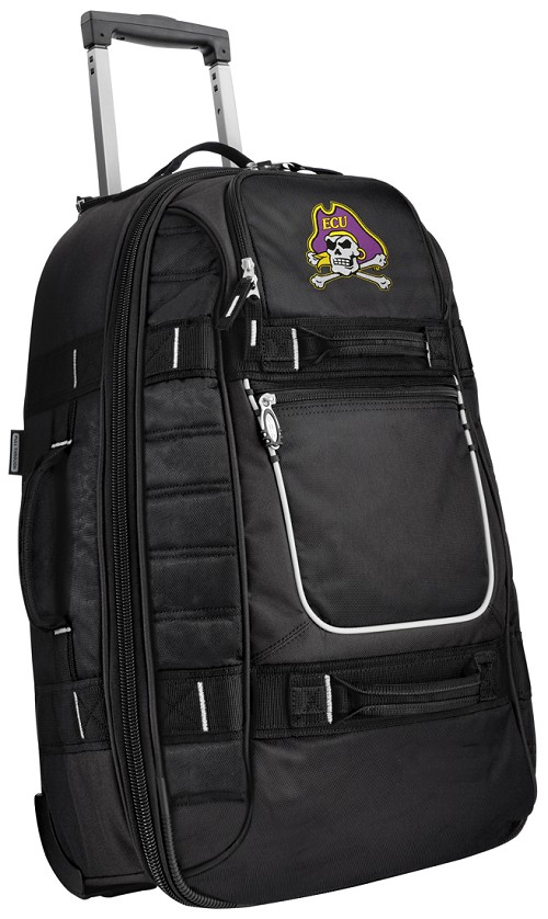 ECU Pirates CarryOn Suitcase Wheeled Bag