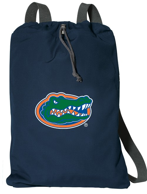 University of Florida Cotton Drawstring Backpack