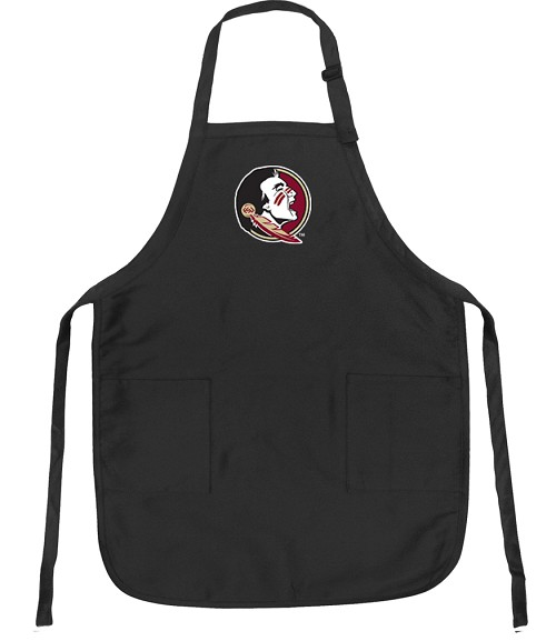 FSU Apron NCAA College Logo Black