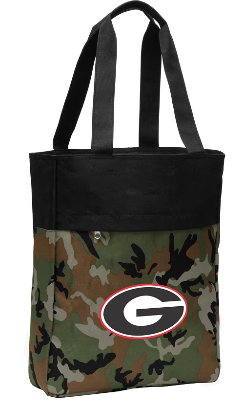 Georgia Bulldog CarryAll Tote Bag Camo