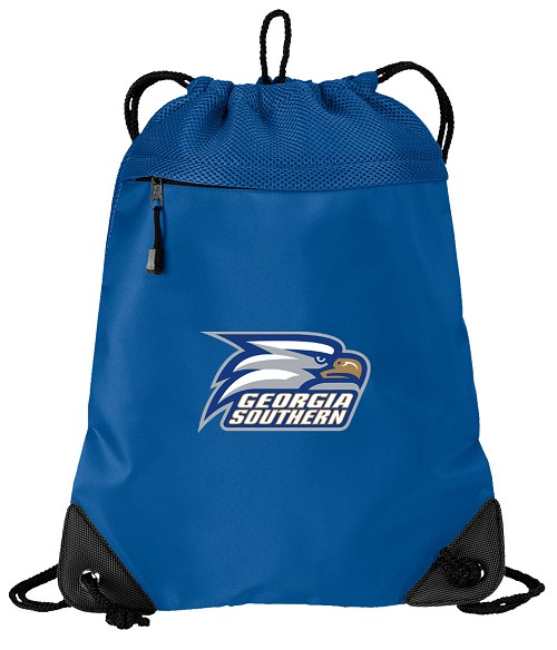 Georgia Southern Drawstring Bag Backpack Blue