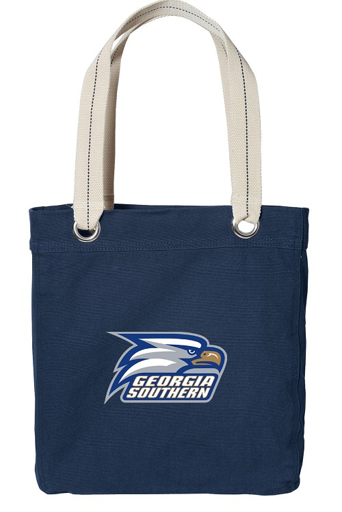 Georgia Southern Canvas Tote Bag Navy