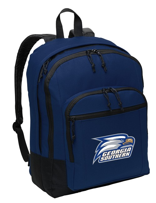 Georgia Southern Backpack Navy Blue