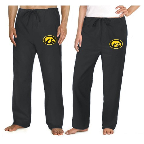 University of Iowa Hawkeyes Scrubs Bottoms Pants