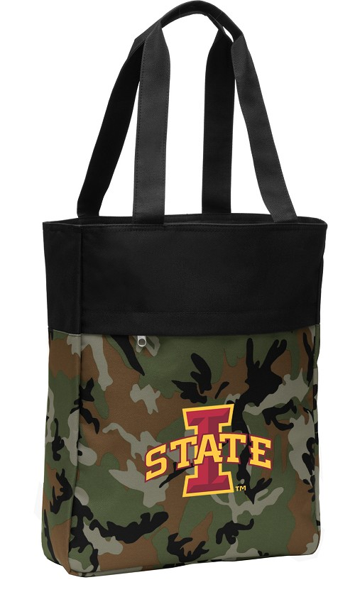 Iowa State Tote Bag Everyday Carryall Camo
