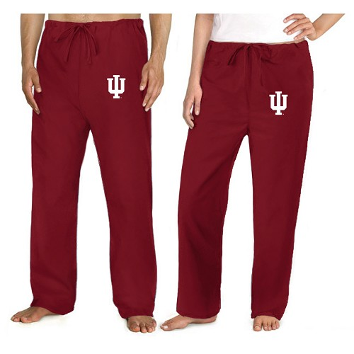 Iu Indiana University Scrubs Bottoms Pants