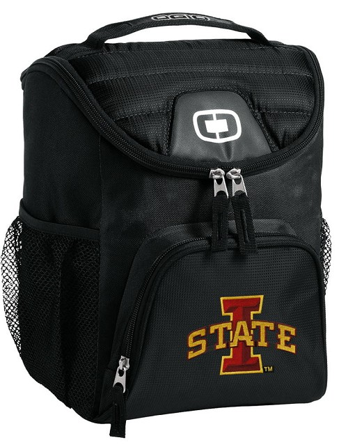 ISU Iowa State University Lunch Bag Insulated Lunch Cooler Black