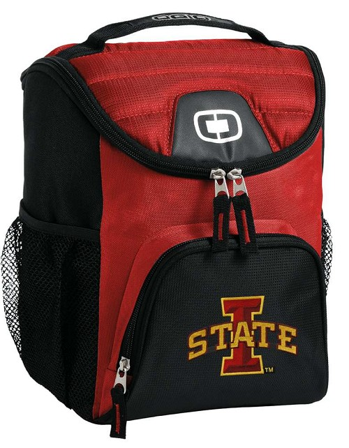 ISU Iowa State University Lunch Bag Insulated Lunch Cooler Red
